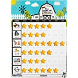 Playco Magnetic Reward Chart for Kids - Chores, Behaviors, Responsibilities, Routines - 11 X 15.5 Inches - A Must Have for Yo