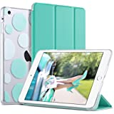 iPad Mini 3 Case,iPad Mini 2 Case,iPad Mini Case,ULAK Slim Bumper Smart Case Stand for Apple iPad Mini 1/2/3 Colorful Clear B