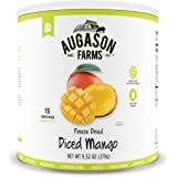 Augason Farms Freeze Dried Diced Mango 9.52 oz #10 Can