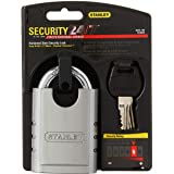 Stanley Hardware 828160 2.5-Inch and 60-mm Hardened Steel Security Lock, 1-Inch Shackle