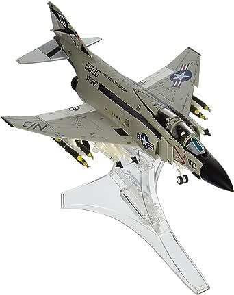 UNIMAX 1/72 F-4 ファントムII アメリカ海軍 空母コンステレーション 1972年 完成品