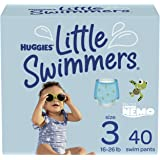 Huggies Little Swimmers Swim Diapers, Size 3 Small, 40 Count (2 Packs of 20)