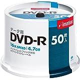 イメーション DVD-Rデータ用 1-16X プリンタブルホワイト スピンドル50枚入ロゴなし DVD-R4.7PWBX…
