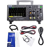 Hantek DSO2D10 Digital Storage Oscilloscope 2CH Dual Channel 100MHz Bandwidth with Built-in 1CH 5MHz Waveform Generator