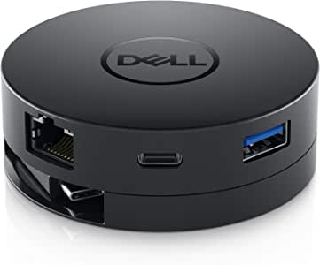 Dell ノートPC用端子拡張アダプタ USB3.1 Type-C接続 (HDMI/DP/VGA/LAN/USB3.1) DA300