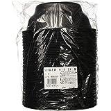 中央化学 使い捨て 容器 テイクアウト ランチ 弁当 食器 日本製 どんぶり レンジ可 SD咲き丼 本体 BK 50枚入 直径18.8×7cm M19サイズ:約0×18.8×7cm