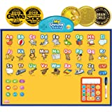 BEST LEARNING i-Poster My Learning Board - Interactive Talking Educational Poster for Wall Toy to Learn ABC, Numbers, Math, S