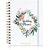 Simple Wedding Planner Notebook with Pockets, Stickers, and More | Ideal for Engagement Gifts for Couples and Bride to be Gif