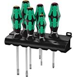 Wera 334/6 Rack Screwdriver Set Kraft Form Plus Laser tip and Rack 6 Pieces, 6 pieces