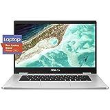 "ASUS Chromebook C523NA-DH02 HD NanoEdge Display, 180 Degree, Intel Dual Core Celeron Processor 15.6"" HD Display"