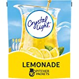 Crystal Light Lemonade Drink Mix (16 Pitcher Packets), 1count, 16 Count (Pack of 1)