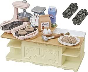 シルバニアファミリー 家具 アイランドキッチン カ-423