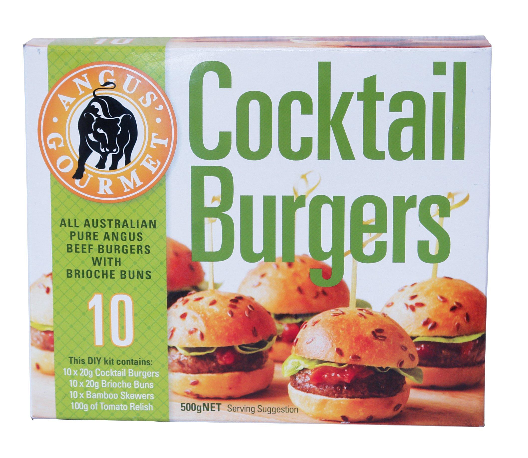 ミニ ハンバーガー キット 10個入り