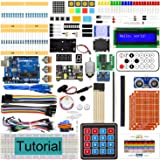 Freenove Ultimate Starter Kit with Board V4 (Compatible with Arduino IDE) (Blue Board), 273 Pages Detailed Tutorial, 217 Item