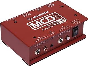 SAMSON 「MCD2PRO」 カスタムトランス搭載ステレオ・パッシブ・PCダイレクトボックス[国内正規品]