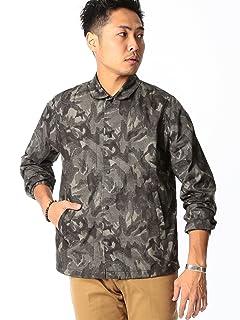Liberty Print Coaches Shirt Jacket 51-18-0210-012: Mono