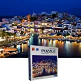 The Jigsaw Puzzlery The Night View Jigsaw Puzzle - 1000 Piece Jigsaw Puzzles for Adults