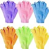 Exfoliating Gloves, Anezus 12 Pairs Exfoliating Shower Bath Scrub Gloves Exfoliator Glove for Body, Shower, Bath, Scrub and S