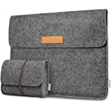 Inateck 12.3-13 Inch Laptop Sleeve Case Compatible MacBook Pro 13'' 2018/2017/2016 (A1989/A1706/A1708)/Microsoft Surface Pro