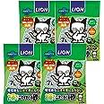 ライオン (LION)お茶でニオイをとる砂 猫砂 紙タイプ 1) 7Lx4袋 (ケース販売)