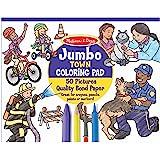 Melissa & Doug Jumbo Colouring Pad Town
