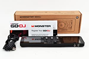 Monster GODJ-C ポータブル DJ 機器 バッテリー駆動型 portable stand alone dj system