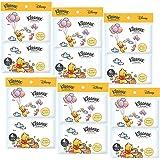 【まとめ買い】 クリネックス ローション ディズニー プー ポケットティシュー 20枚(10組) 4個パック ×6パック入り