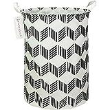 QUEENLALA Large Storage Basket,Collapsible Round Storage Bin,Laundry Hamper/Bathroom/Home Decor/Baby Hamper/Boxes/Baby Clothi