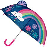 Stephen Joseph Kids' Toddler Pop Up Umbrella, Rainbow