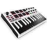 Akai Professional MPK Mini MKII | 25-Key Portable USB MIDI Keyboard With 16 Backlit Performance-Ready Pads, 8-Assignable Q-Li