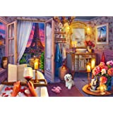 Ravensburger 16789 Cozy Bathroom - 500 PC Puzzles Large Format for Adults – Every Piece is Unique, Softclick Technology Means