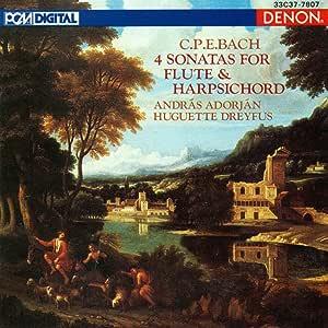 Sonatas for Flute & Harpsichord