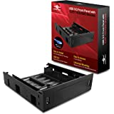 """Vantec USB 3.0 Front Panel with 5.25"""" HDD/SSD Bracket (HDA-502H)"""
