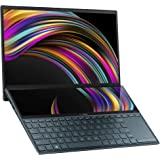"ASUS ZenBook Duo UX481 14"" FHD NanoEdge Bezel Touch Display, Intel Core i7-10510U CPU, 8GB RAM, 512GB PCIe SSD, Innovative Sc"