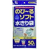 日本サニパック 水切りネット のび~る ソフト 三角コーナー 排水口 50枚組 兼用タイプ ごみ袋 WR65