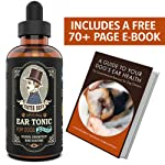 Mister Ben's Most Effective Dog Ear Treatment Cleanser Tonic w/Aloe - Ear Drops for dogs and Cleaner that provides Fast...
