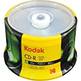 Kodak CD-R Kodak CD-R 700MB 52x Spindle 50 Pack, (510050)