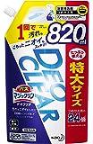 バスマジックリン DEOCLEAR(デオクリア) 風呂洗剤 擦らず落とす フレッシュシトラスの香り 詰め替え 大容量 8…
