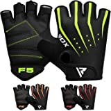 RDX Weight Lifting Gloves for Gym Workout - Breathable with Padded Anti Slip Palm Protection - Great for Fitness, Bodybuildin
