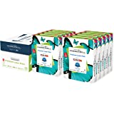 Hammermill Premium Laser Print 24lb Copy Paper, 8.5x11, 3 Hole Punch, 5000 Sheets, Made in USA, Sustainably Sourced from Amer