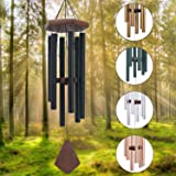 Memorial Wind Chimes Outdoor Large Deep Tone, 30'' Amazing Grace Wind Chime Outdoor, Sympathy Wind-Chime Personalized With 6