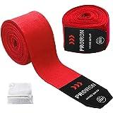 PROIRON ボクシング バンテージ キックボクシング バンテージ 練習 洗濯ネット付き 4.5m 2.5m マジックテープ式 2サイズ3色選択可能 2個1セット