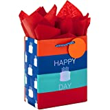 """Hallmark 6"""" Small Gift Bag with Tissue Paper for Birthdays (Happy Cake Day)"""