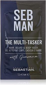 SEB MAN The Multi-Tasker Hair Beard and Body Wash, 15ml
