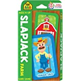 School Zone - Slapjack Farm Card Game - Ages 4+, Preschool to Kindergarten, Animals, Counting, Matching, Vocabulary, and More