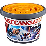 MECCANO Junior, 150 pcs Bucket STEAM Model Building Kit for Open-Ended Play (6055102)