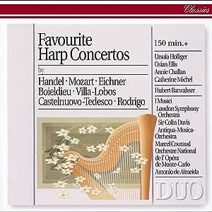 Favorite Harp Concertos