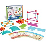 """Learning Resources Dive into Shapes! A """"Sea"""" and Build Geometry Set, 129 Pieces, Ages 6+"""