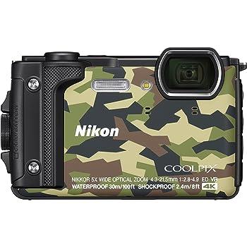 Nikon デジタルカメラ COOLPIX W300 GR クールピクス カムフラージュ 防水 クリーニング クロス付き