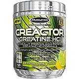 MuscleTech Creactor, Max Potency Creatine Powder, Micronized Creatine and Creatine HCl, Lemon Lime Twist, 120 Servings (238g)